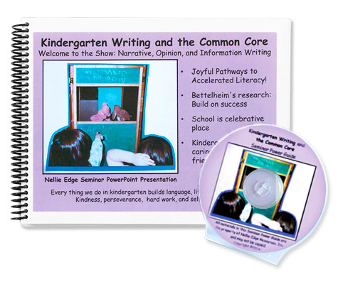 Kindergarten Writing Workshop by Nellie Edge